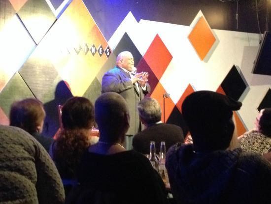 Caroline's Comedy Club: Laval killing it!