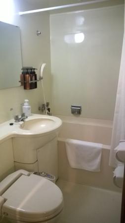 Hotel Sunroute Umeda : bathroom