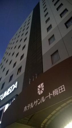 Hotel Sunroute Umeda: hotel view from street