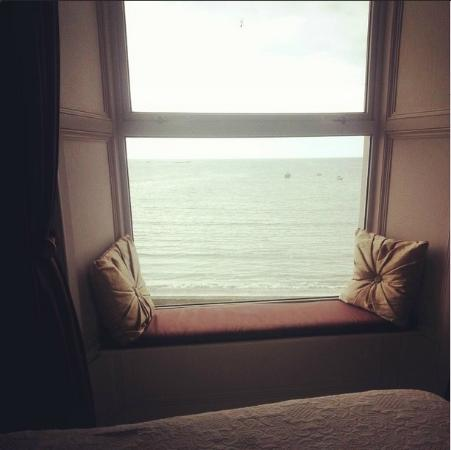 The Strand Seafood Bistro and Guesthouse : A view from the room