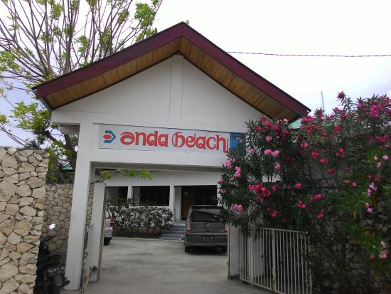 Anda Beach Hotel & Restaurant: its a gate of anda beach