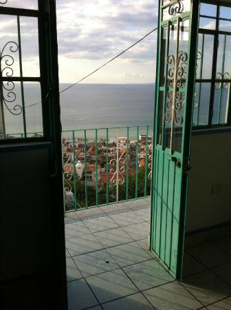 The 3 Amigos Guest House : The amazing view from the kitchen