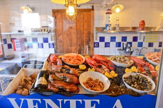 Amarine Saint Priest: Le banc de l'écailler présente ses fruits de mer ultra frais