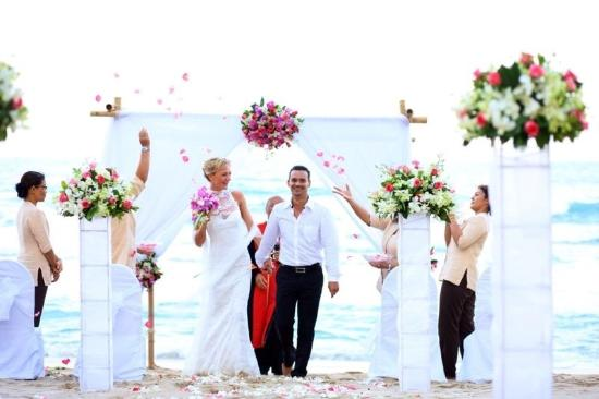 Impiana Resort Chaweng Noi: wedding ceremony