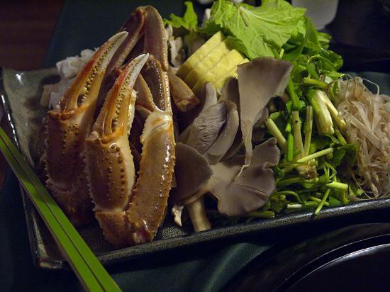Okunikko Yunomori: небоьшая часть ужина