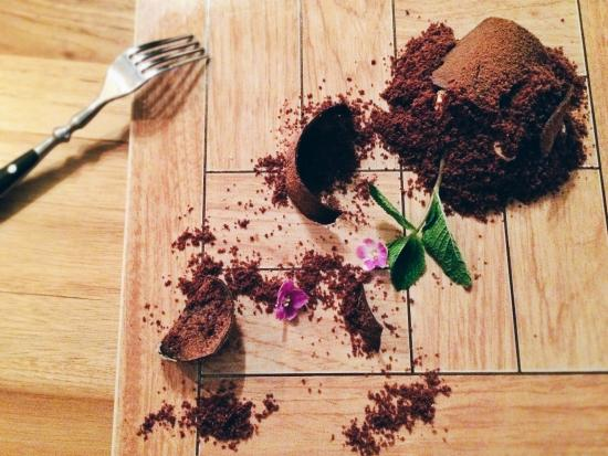 Мамин любимый цветок десерт фото