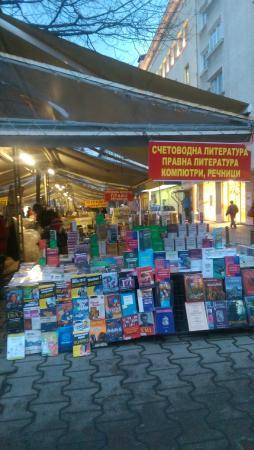"Slaveikov Square : ""The book park"""