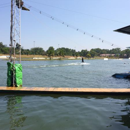 Phuket Wake Park Apartments: Swim way