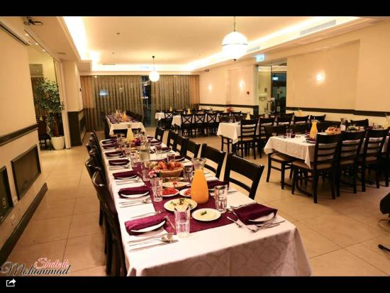 Lev Yerushalayim: Dining hall for private dinners