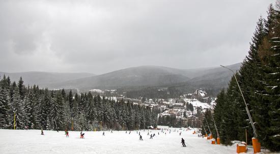 Orea Resort Sklar: снежный день