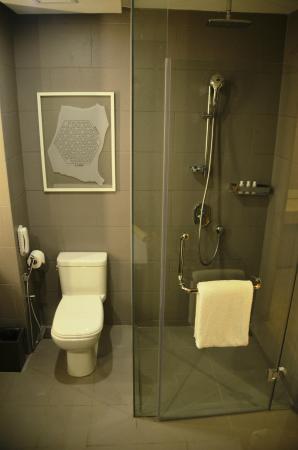 the toilet