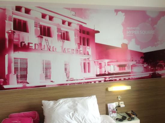 Decoration picture of favehotel hyper square bandung tripadvisor favehotel hyper square decoration junglespirit Image collections
