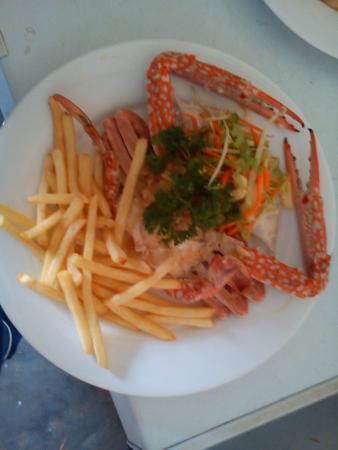 Dilena Beach Inn Sea Food Restaurant: dish