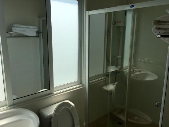green terrace guesthouse coltd das badezimmer zwar klein aber muss auch nicht - Badezimmer Grn