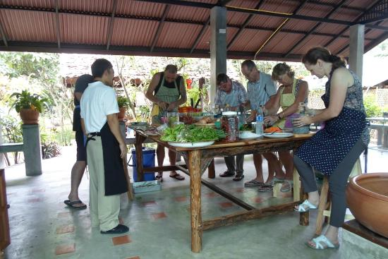 Thai garden farm cookery school