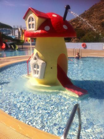 Blue Lagoon Village: My 3 yr old loved this slide