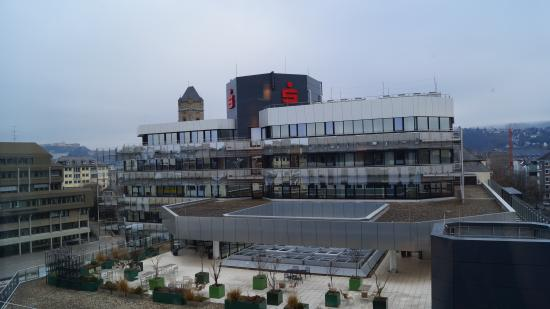 Ibis Koblenz City: вид из окна