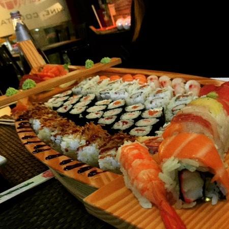 Sushi Cueva : barchetta da 80 pezzi