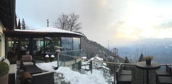 Es hat geschneit bild von miramonti boutique hotel for Hotel miramonti boutique