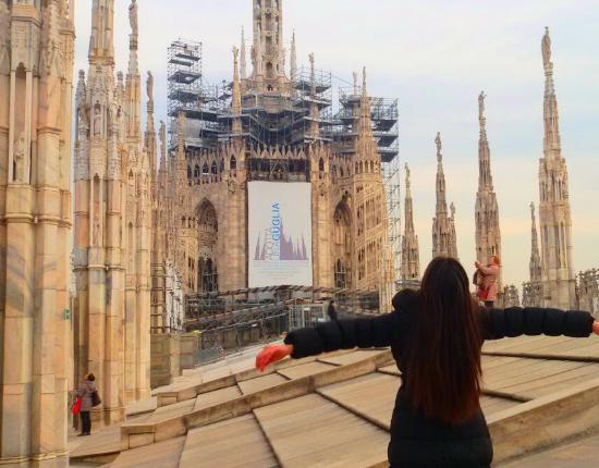 Terrazza del duomo madonnina - Foto di Terrazze del Duomo, Milano ...