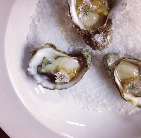 Interlaken Inn Morgan's Restaurant: Oysters