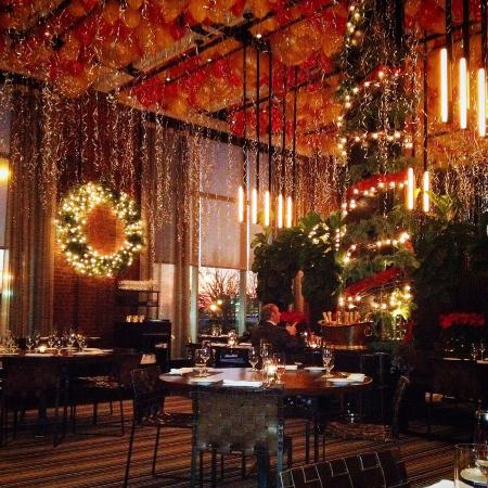 New Year Dinner, main room decoration - Picture of Colicchio ...