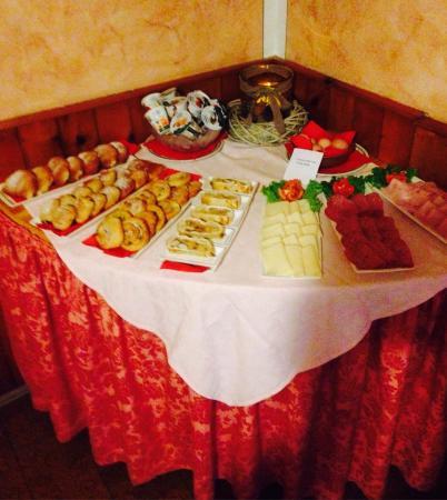 Pub Hotel El Paso: Buffet colazione 1
