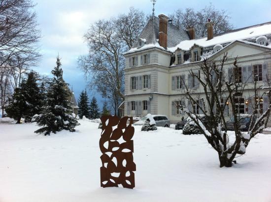 Château de Divonne : l'hiver