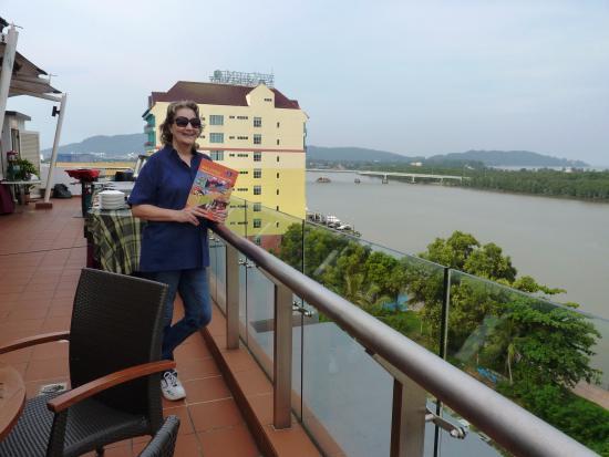 Hotel Sentral Kuantan: Rooftop restaurant