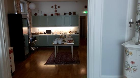 Parlan Hotell: De gezellige ontbijtruimte