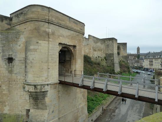 Musée de Normandie : Замок в Кане, на территории которого расположен музей