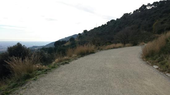 Carretera de Les Aigues