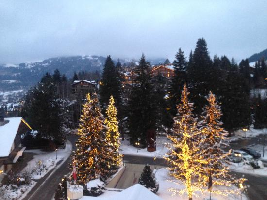 Gstaad Palace Hotel : view from my room