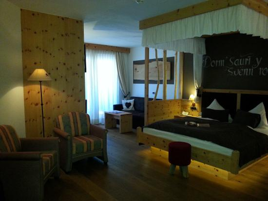 ABINEA Dolomiti Romantic SPA Hotel: stanza Romantic.