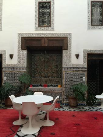 Riad Tizwa Fes: Riad Tizwa 'lobby'