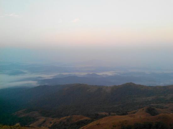 Morning view from kallu mantapa
