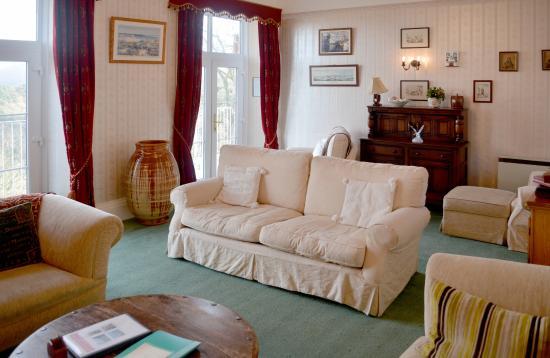 Sinai House: Guest lounge
