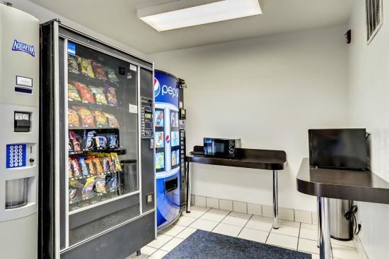 موتل 6 بالتيمور بي دبليو آي أيربورت: Vending