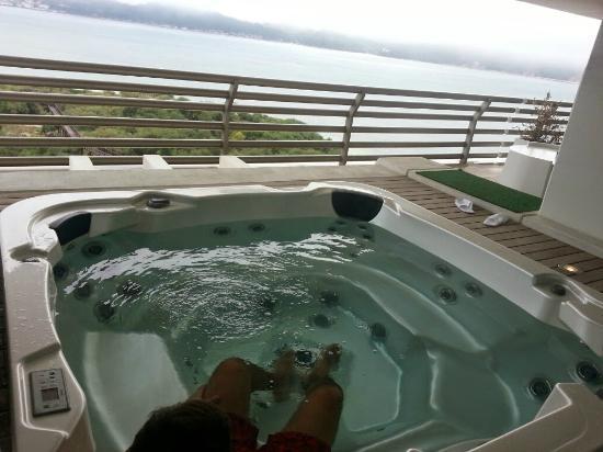 Vista do quarto picture of blue green troia design for Design hotel troia