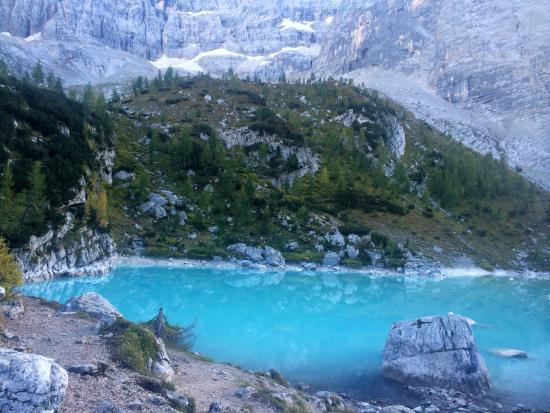 Veduta del lago sorapiss n 4 picture of lago di for Lago n