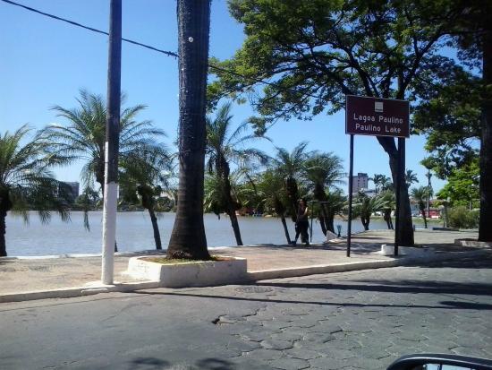 Sete Lagoas: Lagoa com identificação