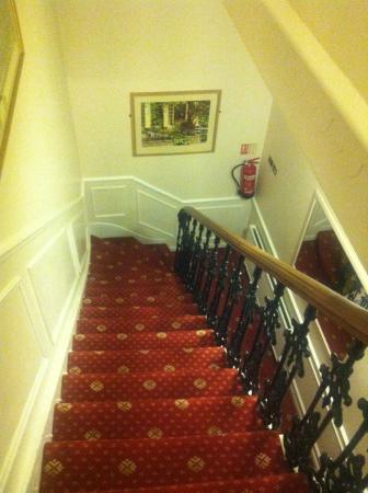 Hotel Rushmore: Treppenhaus- Steil!