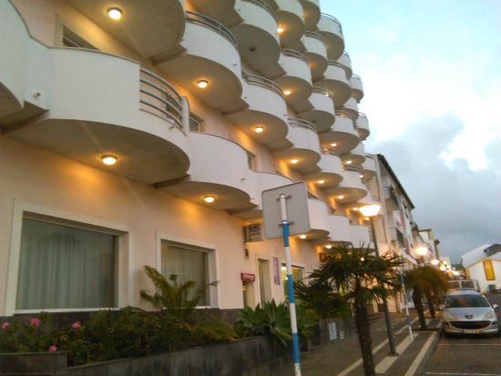 Hotel Ponta Delgada: Vorderseite Hotel