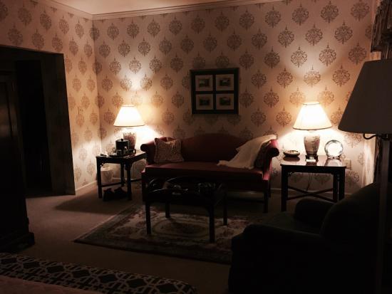 Carnegie Inn & Spa : Sitting area