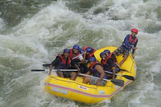 Kitulgala, Sri Lanka: White water rafting