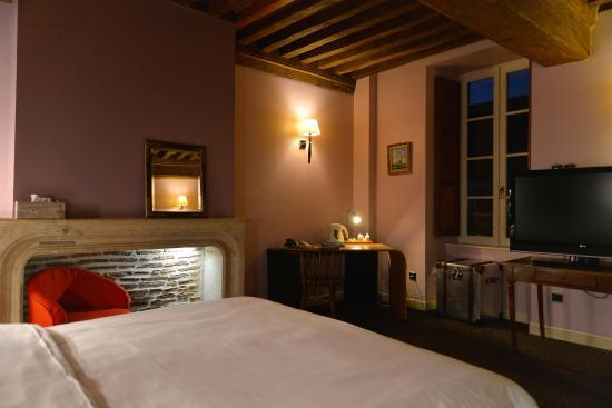Hotel de la Cote d'Or : chambre