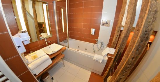 Hotel de la Cote d'Or : salle de bain