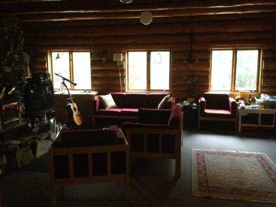 HI-Nordegg, Shunda Creek Hostel : Common Area