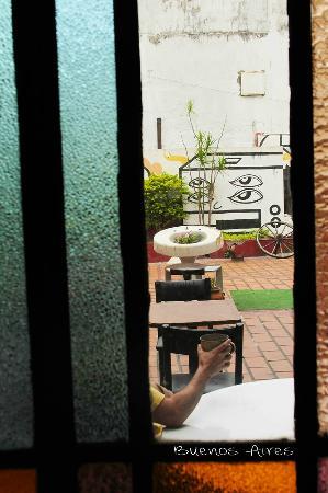 Homstel Soleil : Por la mañana