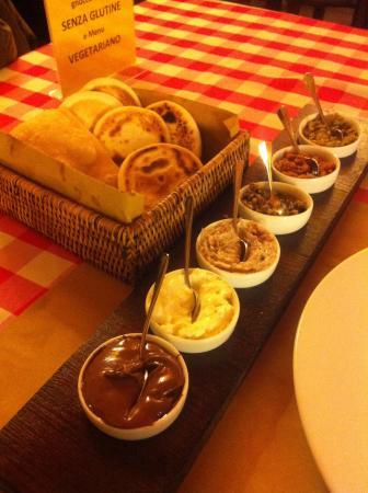 La Specialeria: Le Tigelle e le salsine buonissime
